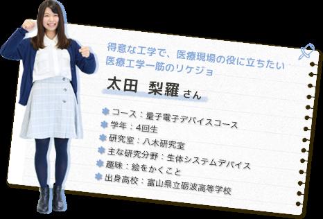 太田 梨羅さん